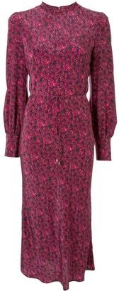Rebecca Vallance Rosette floral print midi dress