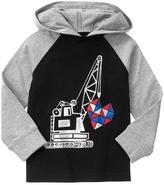 Gymboree Heart Crane Pullover