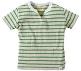 Burt's Bees Baby Striped Tee (Toddler/Kid) - Grass-3T