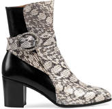 Gucci Snake ankle boot