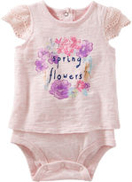 Osh Kosh Oshkosh Short Sleeve Bodysuit -Baby Girls