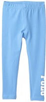 Polo Ralph Lauren Stretch Cotton Jersey Polo Leggings (Toddler) (Harbor Island Blue) Girl's Casual Pants