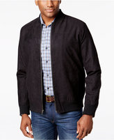Tasso Elba Men's Microsuede Bomber Jacket, Only at Macy's