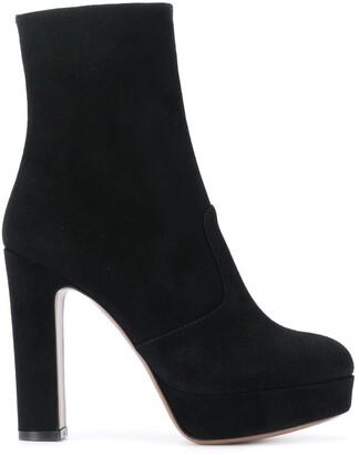 L'Autre Chose Camoscio boots