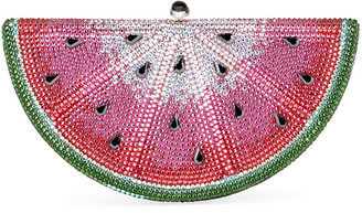 Judith Leiber Slice Watermelon Clutch Bag
