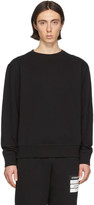 Maison Margiela Black Elbow Patch Sweatshirt