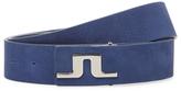 J. Lindeberg Carter Brushed Leather Belt