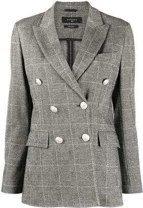 Circolo 1901 Check Double-Breasted Blazer