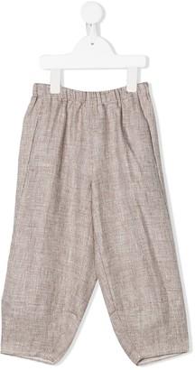 Il Gufo Linen Tracksuit Trousers