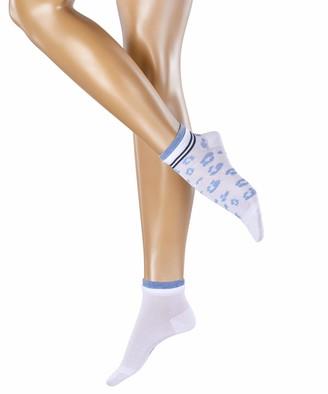 Esprit Women's Mesh Dot Ankle Socks
