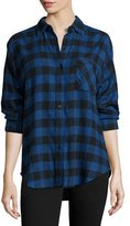 Rails Jackson Plaid Long-Sleeve Shirt, Blue/Black Check