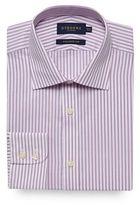 Osborne Lilac Striped Print Tailored Fit Shirt