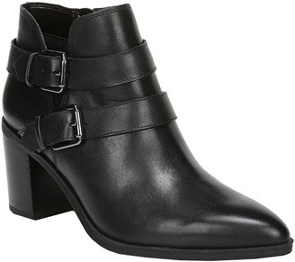 Franco Sarto Buck Leather Bootie