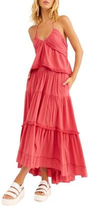 Free People Kahlo Halter Top & Maxi Skirt