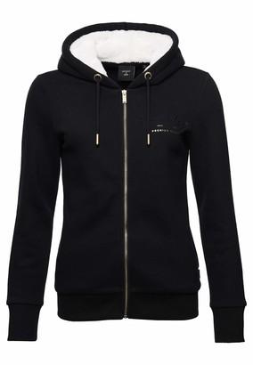 Superdry Women's Established Zip Hood Cardigan Sweater