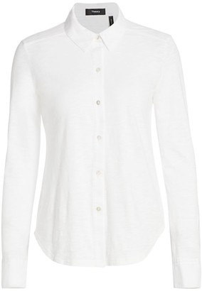 Theory Riduro Organic Cotton Shirt