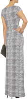 Tart Patchouli snake-print stretch-modal maxi dress