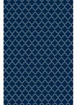 Remley Quatrefoil Design Blue/White Indoor/Outdoor Area Rug Winston Porter Rug Size: Rectangle 2' x 3'