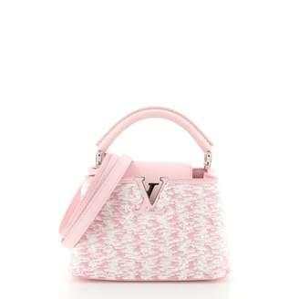 Louis Vuitton Capucines Pink Glitter Handbags