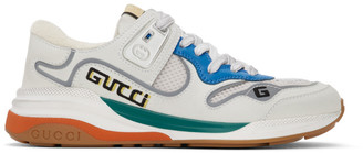 Gucci White Ultrapace Sneakers