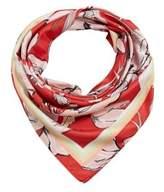 MANGO Floral scarf