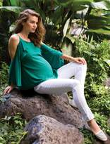 A Pea in the Pod Luxe Essential Denim Secret Fit Belly Addison Skinny Ankle Maternity Jeans