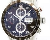 Tag Heuer Carrera CV2A12 Tachymetre Chronograph Stainless Steel 43mm Mens Watch