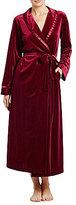 Oscar de la Renta Velvet Long Robe