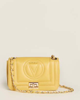 Mario Valentino Valentino By Beatriz Sauvage Avocado Leather Shoulder Bag