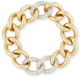 Pomellato Tango Curb Link Bracelet with Diamonds