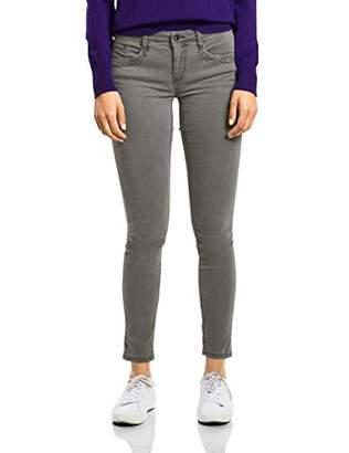 Street One Women's 371805 York Slim Jeans, (Grey Wash 11651), 32W x 30L
