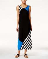 Style&Co. Style & Co. Petite Colorblocked Maxi Dress, Only at Macy's