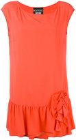Moschino ruffled detail blouse