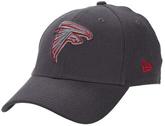 New Era NFL Stretch Fit Graphite 3930 -- Atlanta Falcons (Graphite) Baseball Caps
