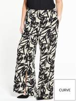 Lovedrobe Printed Palazzo Trousers