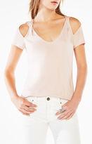 BCBGMAXAZRIA Louella Cold-Shoulder Top