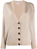 Brunello Cucinelli button-up long sleeve cardigan