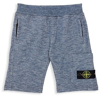 Stone Island Little Boy's & Boy's Fleece Shorts