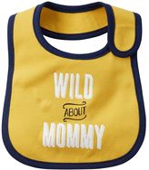 Carter's Baby Boy Embroidered Family Statement Applique Bib