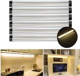 Smart & Green Lighting S&G 12-inch 3000K Warm White 900lm Under Cabinet Light LED Under Counter Light with Switch Control 24W Fluorescent Tube Equivalent Kit Total of 12W LED Closet Lighting