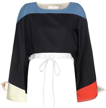 Chloé Cotton-twill top