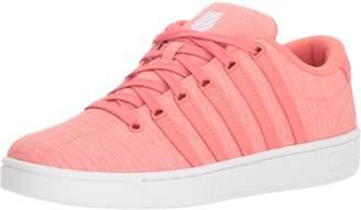 K-Swiss K Swiss Women's Court Pro II T CMF Sneaker Georgia Peach/White 6.5 M US