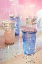 Urban Outfitters Glitter Sipper Cup