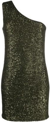 Liu Jo sequin one shoulder dress