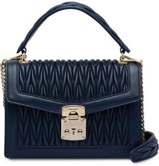 Miu Miu Confidential Matelassé leather bag