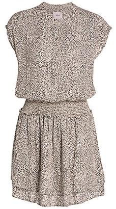 Rails Angelina Cheetah Print Mini Dress