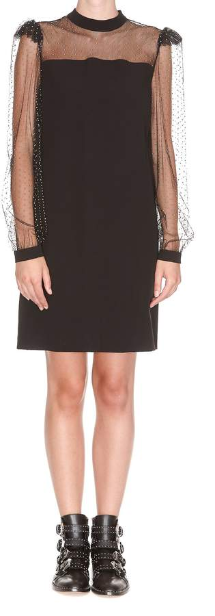 Givenchy Mini Dress With Bow