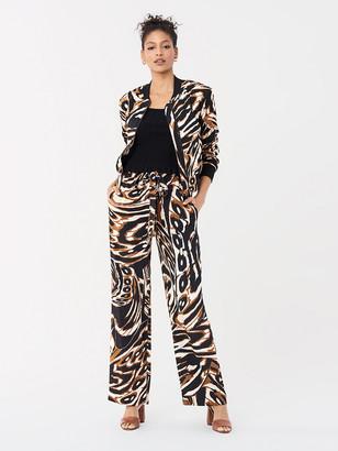 Diane von Furstenberg Denise Silk Crepe de Chine Pants