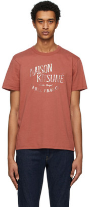 MAISON KITSUNÉ Pink Palais Royal T-Shirt