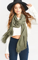 MUMU The Season Scarf ~ Olive